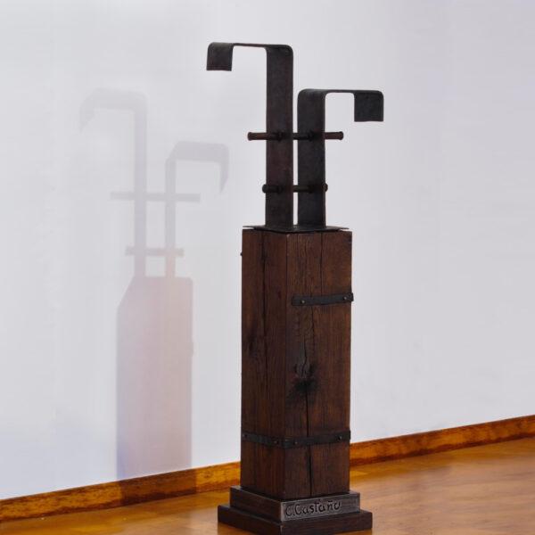 escultura-hierro-ferrico-la-ferritina