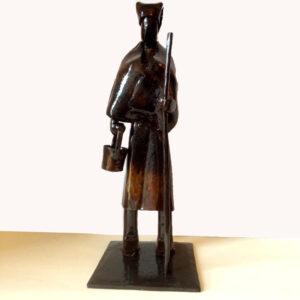 escultura-hierro-la-paisana-detalle