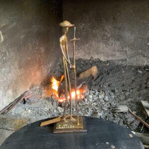 escultura-hierro-peregrino-ii